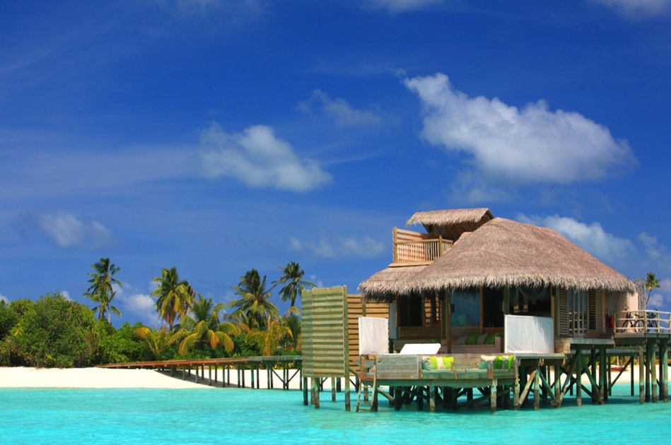 Resort Maldive Six Senses Laaamu lagoon water villa