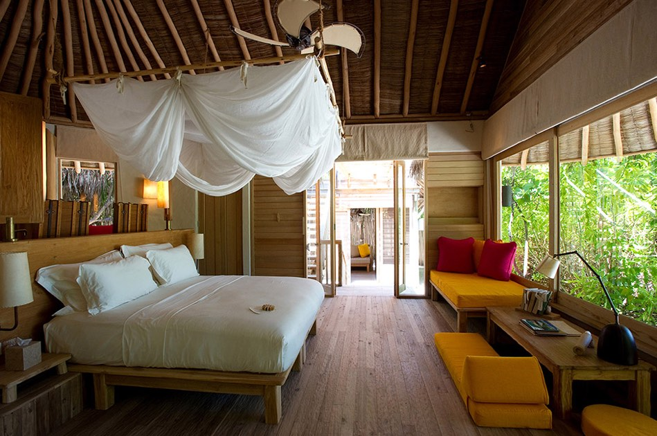 Resort Maldive Six Senses Laaamu lagoon beach villa