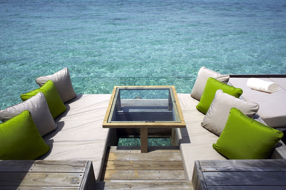 Resort Maldive Six Senses Laaamu laamu water villa