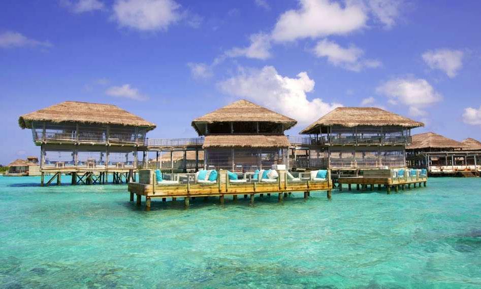 Resort Maldive Six Senses Laaamu ristorante Longitude