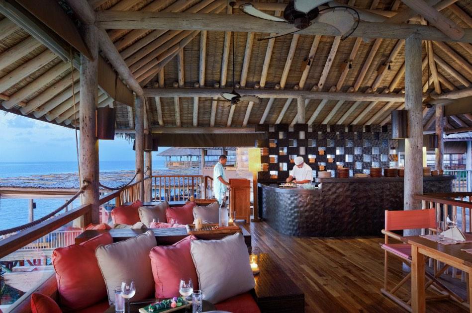 Resort Maldive Six Senses Laaamu ristorante Zen