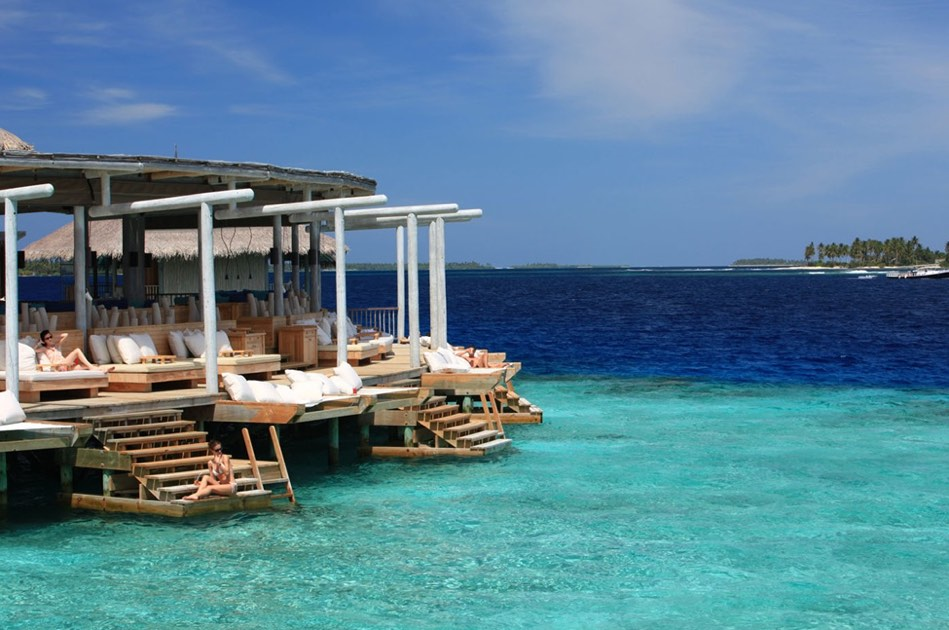 Resort Maldive Six Senses Laaamu cocktail bar Chill Bar