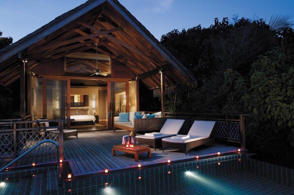 Resort Maldive Shangri-La's Villingili Resort & Spa pool villa