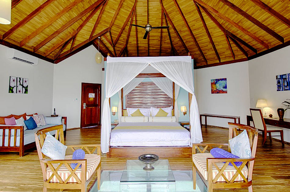Resort Maldive Robinson Club lagoon villa