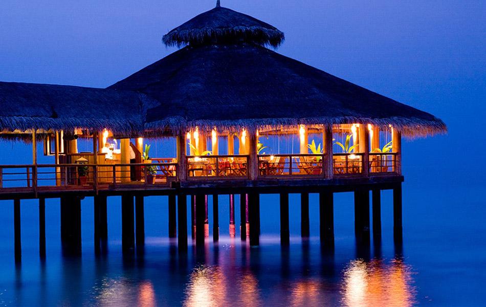 Resort Maldive Reethi Beach Resort Ristorante Moodhu