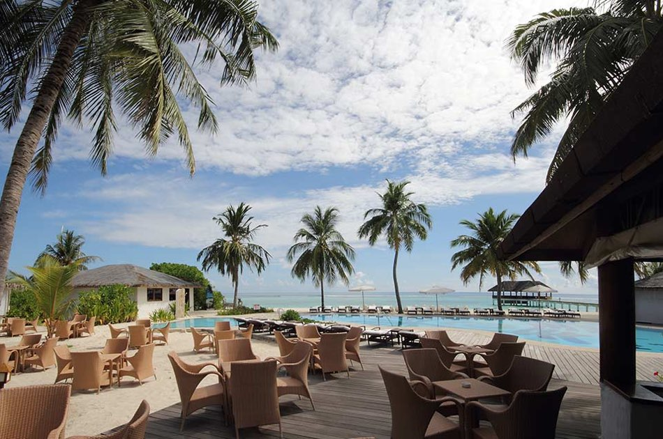 Resort Maldive Palm Beach Resport & Spa coffe shop