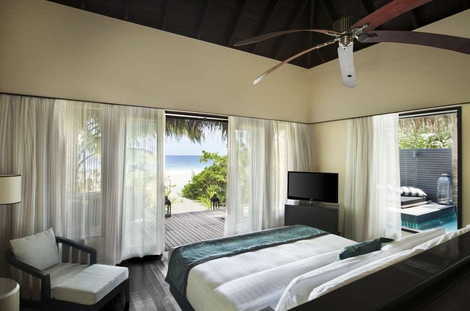 Resort Maldive Outrigger Konotta Maldives beach villa with private pool