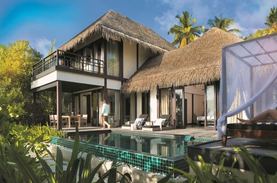 Resort Maldive Outrigger Konotta Maldives two bedroom beach villa with private pool