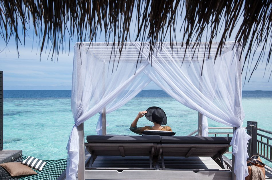 Resort Maldive Outrigger Konotta Maldives overwater villa with private pool
