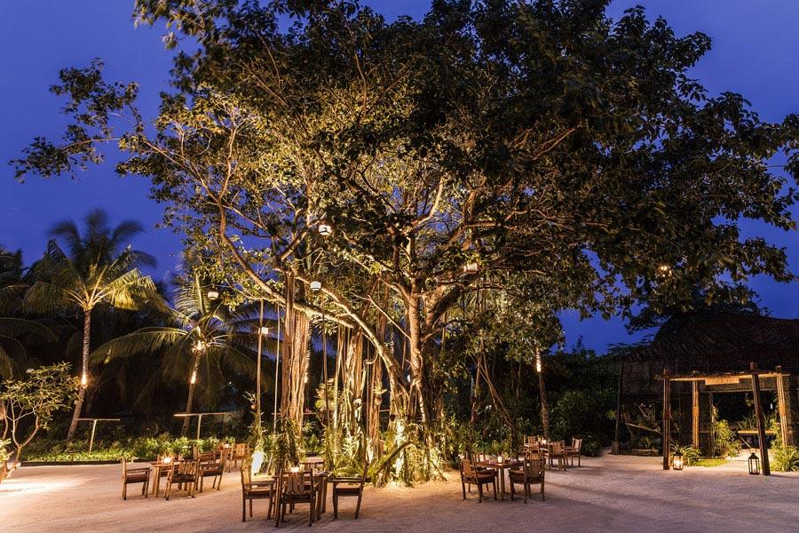 Resort Maldive One & Only Reehi Rah ristorante Botanica