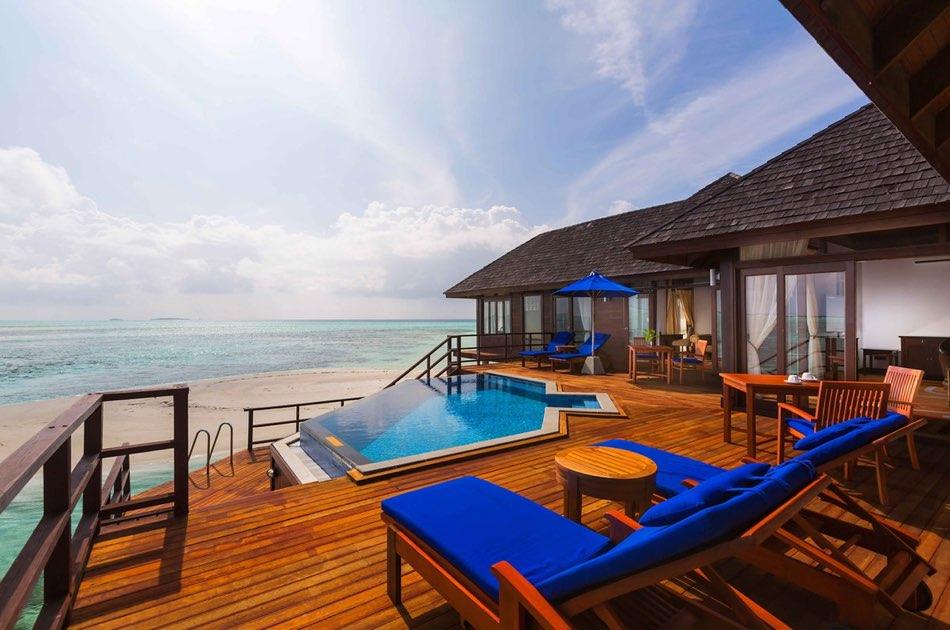 Resort Maldive Olhuveli Beach & Spa presidencial water villa