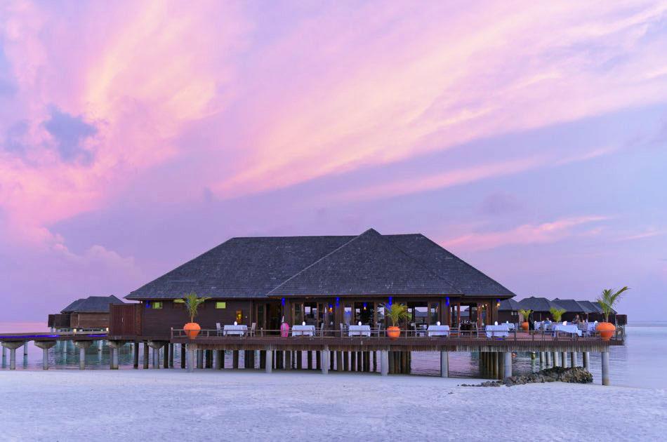 Resort Maldive Olhuveli Beach & Spa ristorante Lagoon