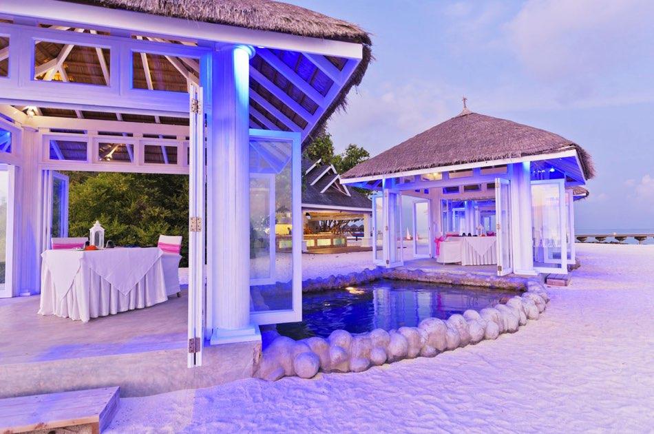 Resort Maldive Olhuveli Beach & Spa ristorante Plamkton Grill