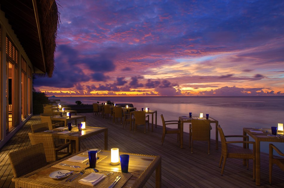 Resort Oblu By Atmosdphere at Helengeli ristorante the spice