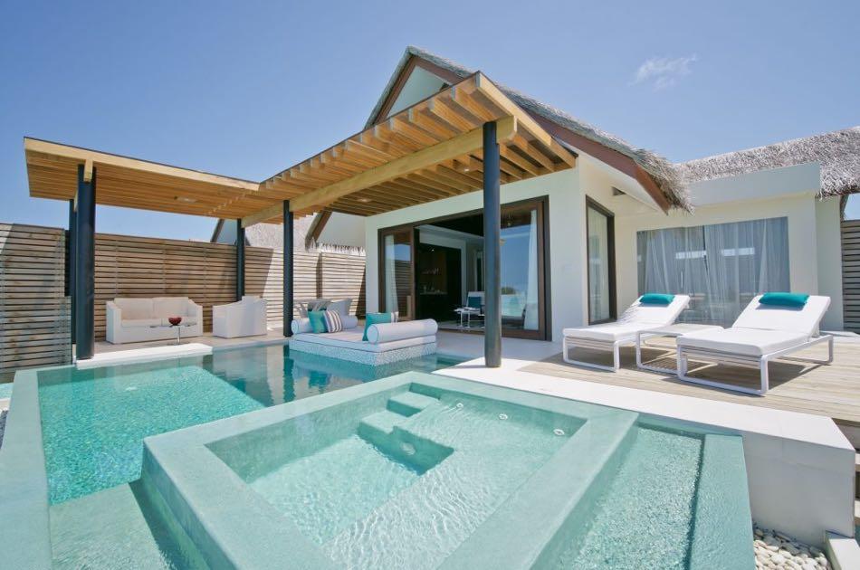 Resort Maldive Niyama per Aquum Resort deluxe water studio with pool