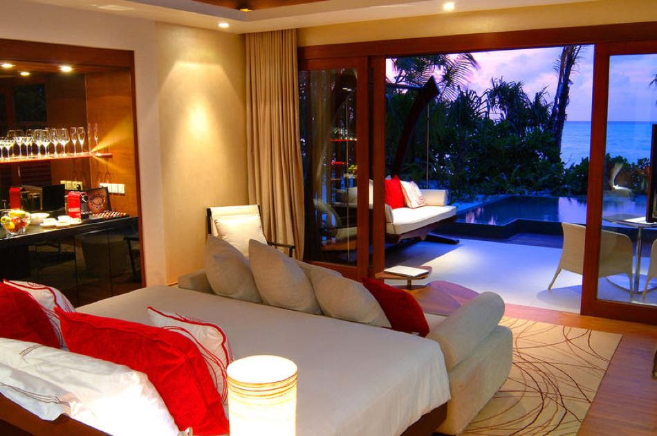 Resort Maldive Niyama per Aquum Resort two bedroom beach pavillon with pool