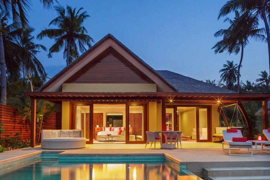 Resort Maldive Niyama per Aquum Resort beach suite with pool