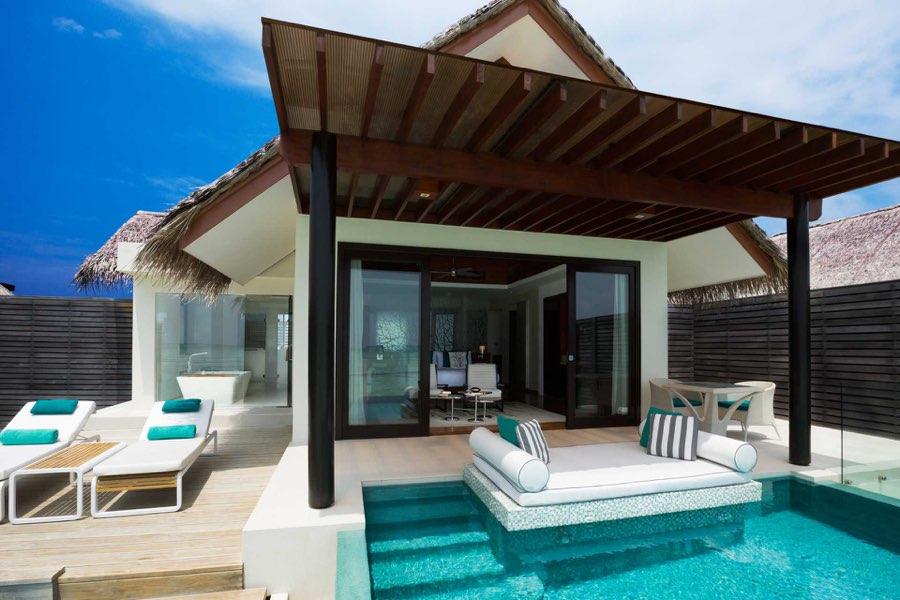 Resort Maldive Niyama per Aquum Resort water studio with pool