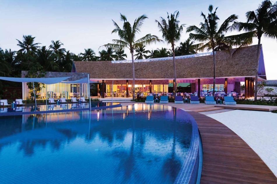 Resort Maldive Niyama per Aquum Resort bar Blu