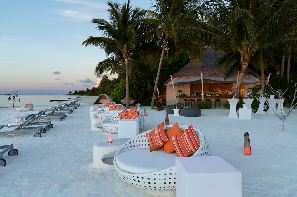 Resort Maldive Niyama per Aquum Resort beach bar Dune