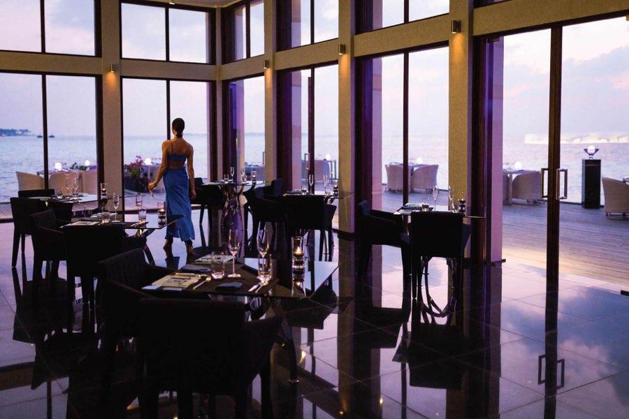 Resort Maldive Niyama per Aquum Resort ristorante Edge