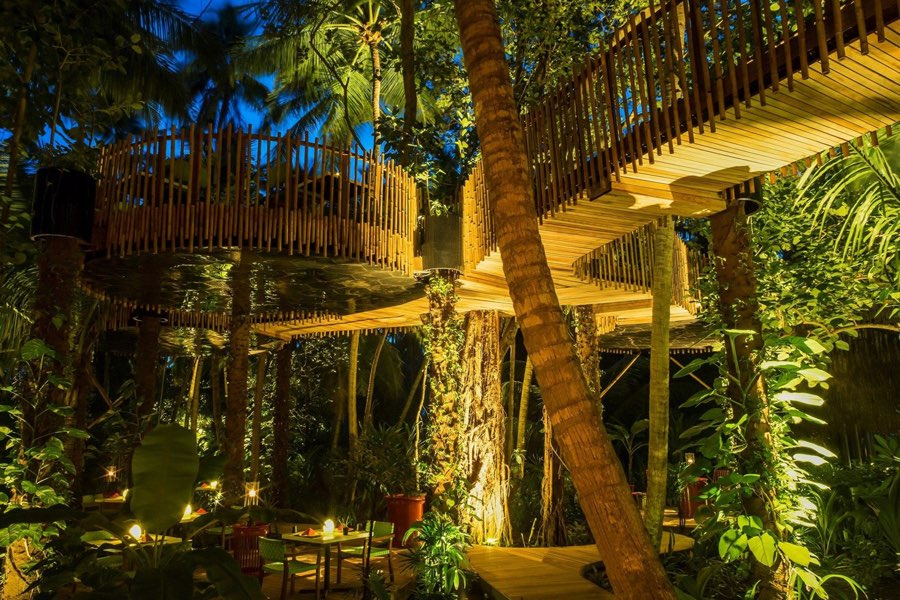 Resort Maldive Niyama per Aquum Resort ristorante Nest