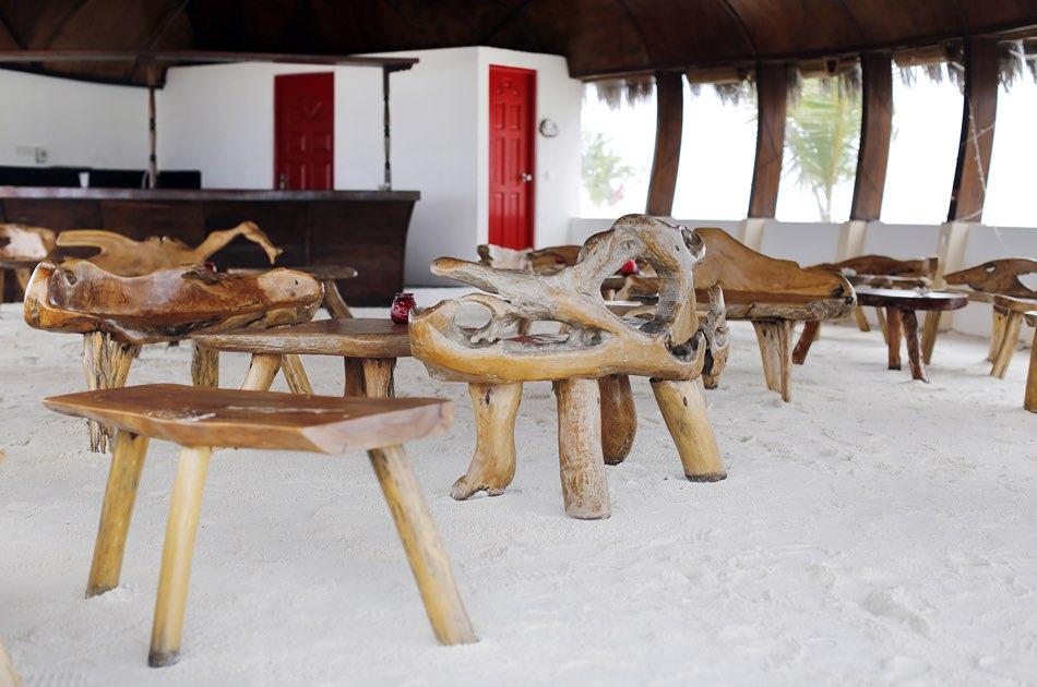 Resort Maldive Nika Island Beach Bar