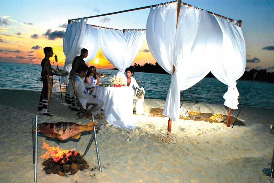 Resort Maldive Nika Island Dining Experience