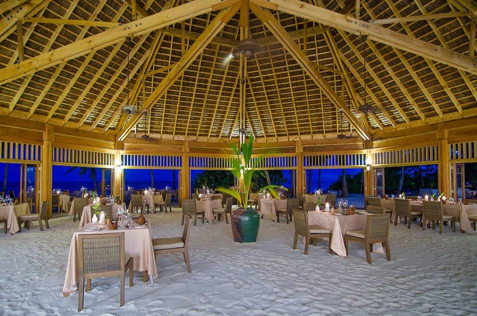 Resort Maldive Mirihi Island Resort ristorante Dhonveli