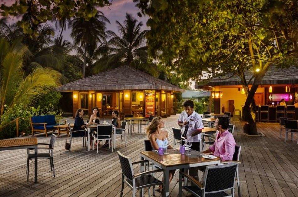 Resort Maldive Meer Island Resort & Spa Hot Rock