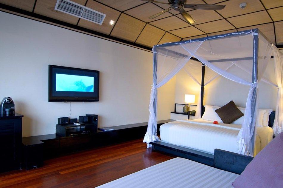 Resort Maldive Lily deluxe water villa