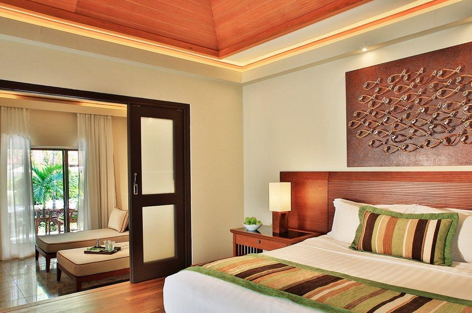 Resort Maldive Kurumba Maldives garden pool villa