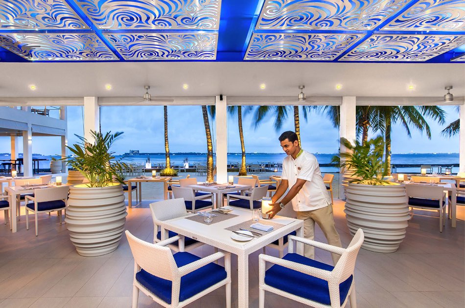 Resort Maldive Kurumba Maldives ristorante Thila