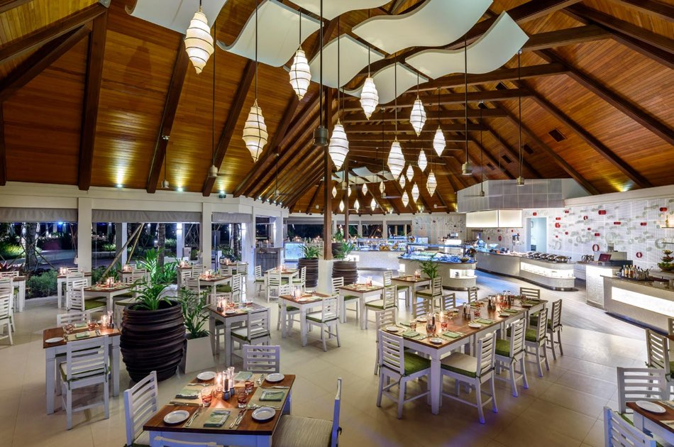 Resort Maldive Kurumba Maldives ristorante Vihamana