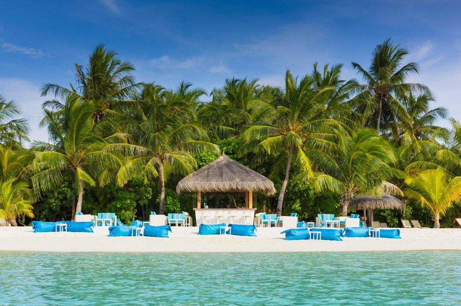Resort Maldive Kurumba Maldives bar Athiri