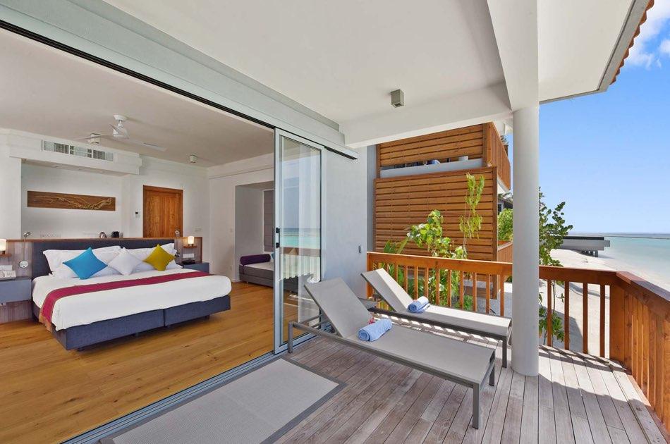 Resort Maldive Kuramathi Island resort two bedroom beach house