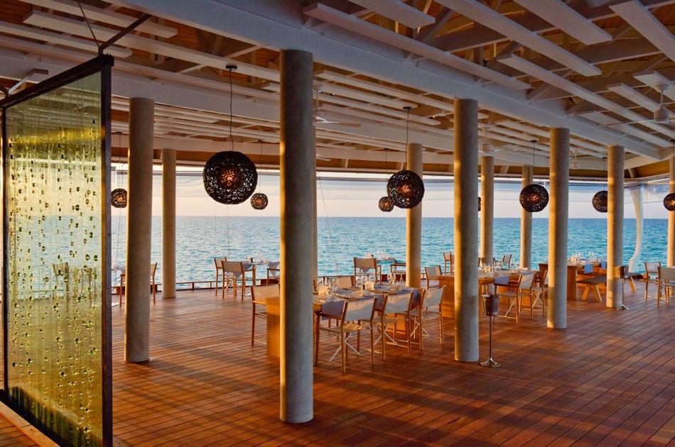 Resort Maldive Kuramathi Island resort ristorante The Reef