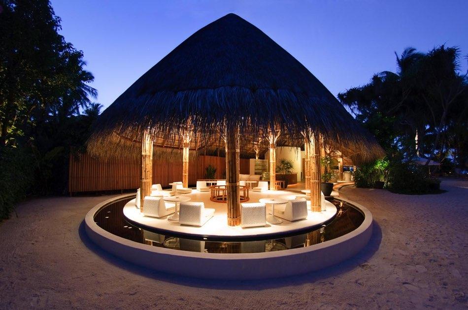 Resort Maldive Kuramathi Island resort ristorante Palm