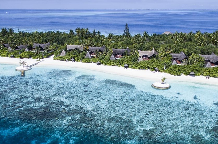 Resort Maldive Jumeirah Vittaveli beach suite with pool