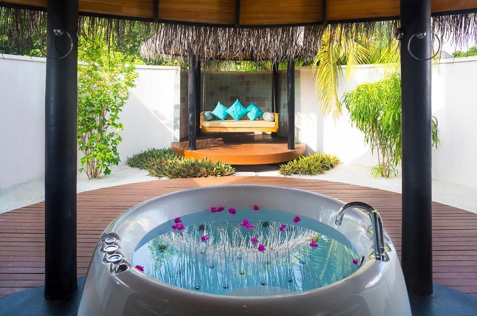 Resort Maldive The Sun Siyam Iru Fushi beach villa