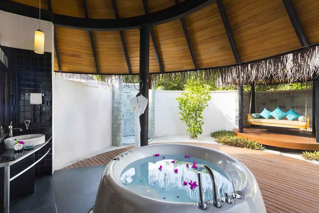 Resort Maldive The Sun Siyam Iru Fushi deluxe beach villa