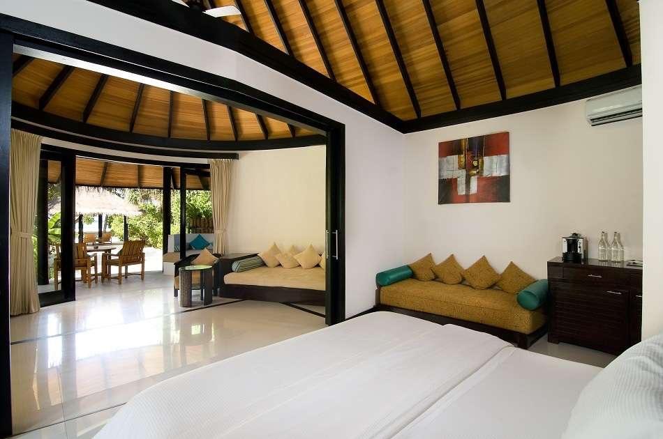 Resort Maldive The Sun Siyam Iru Fushi family pool beach villa