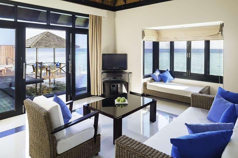 Resort Maldive The Sun Siyam Iru Fushi water villa
