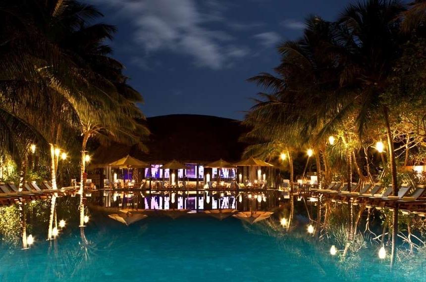 Resort Maldive The Sun Siyam Iru Fushi ristorante