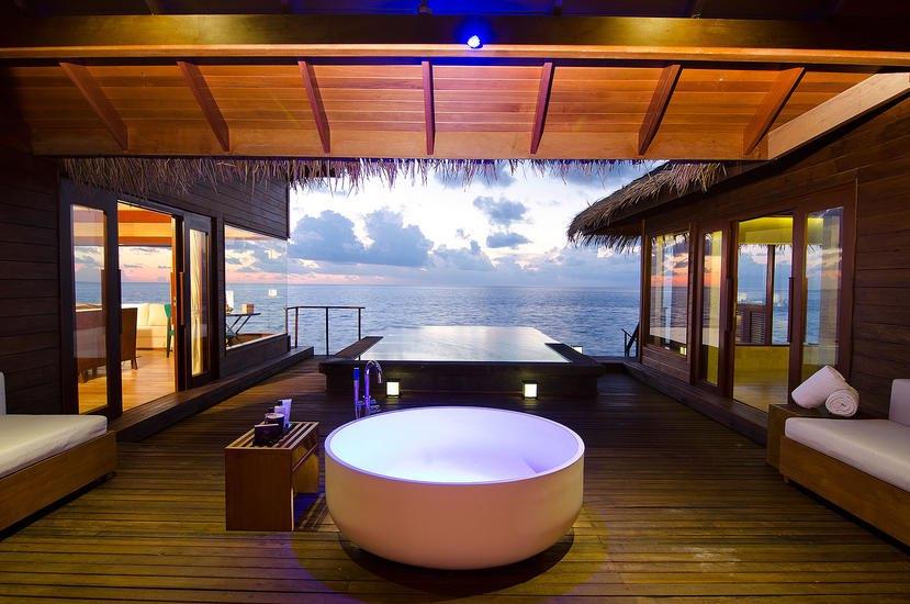 Dhevanafushi Maldives Luxury beach ocean villa