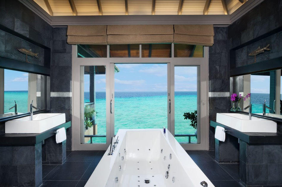 Resort Maldive Ja Manafaru water two bedroom suite with private pool