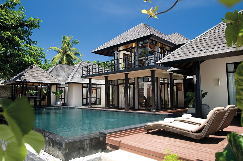 Resort Maldive Ja Manafaru royal island two bedroom suite with infinity rivate pool