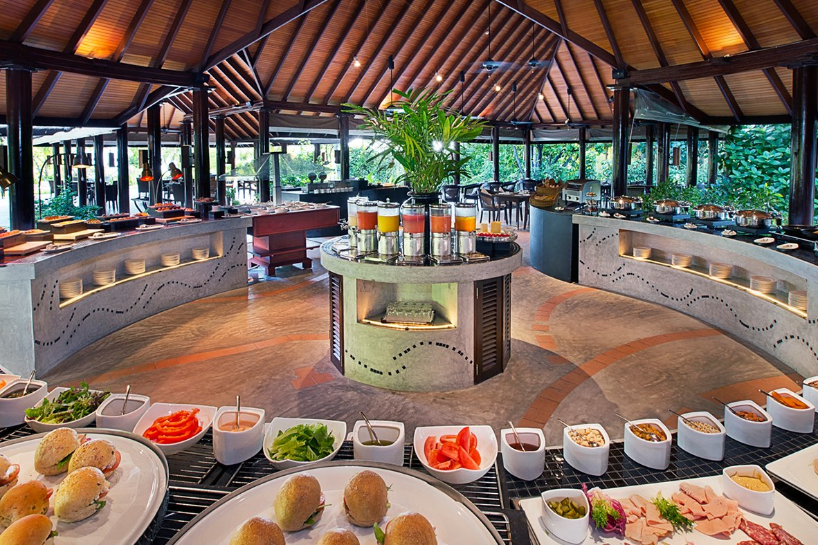 Resort Maldive Ja Manafaru royal island ristorante kakuni
