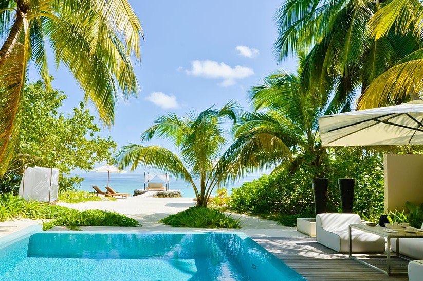 Resort Maldive Huvafen Fushi three bedrooms with pool