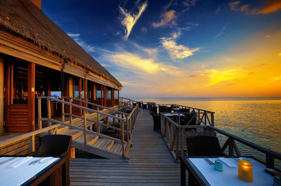 Resort Maldive Huvafen Fushi ristorante